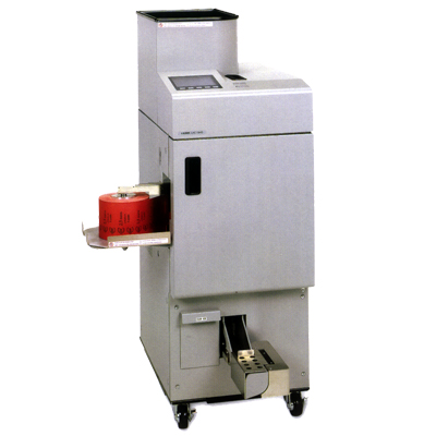 coin wrapping machine